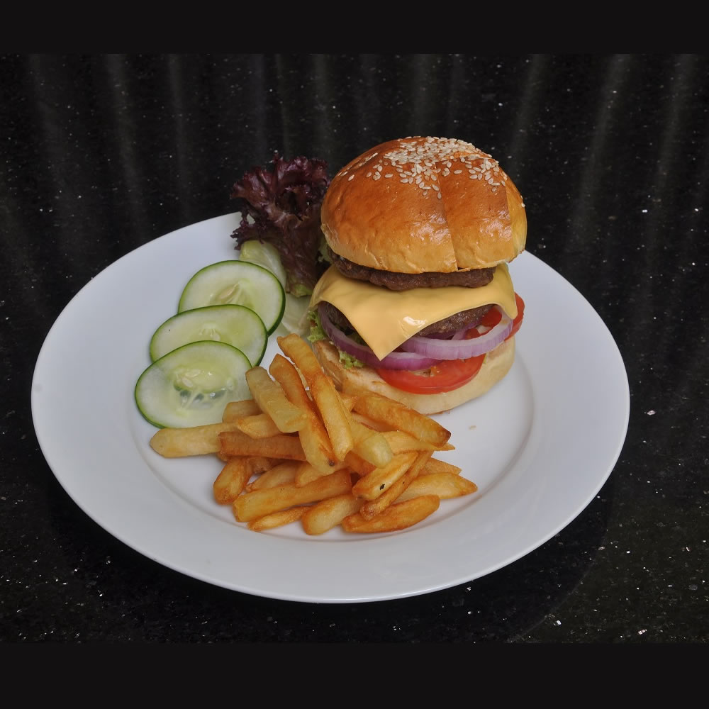 Chicken Burger with Chips